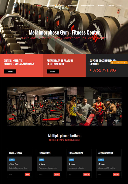 Metalmorphose GYM Iasi